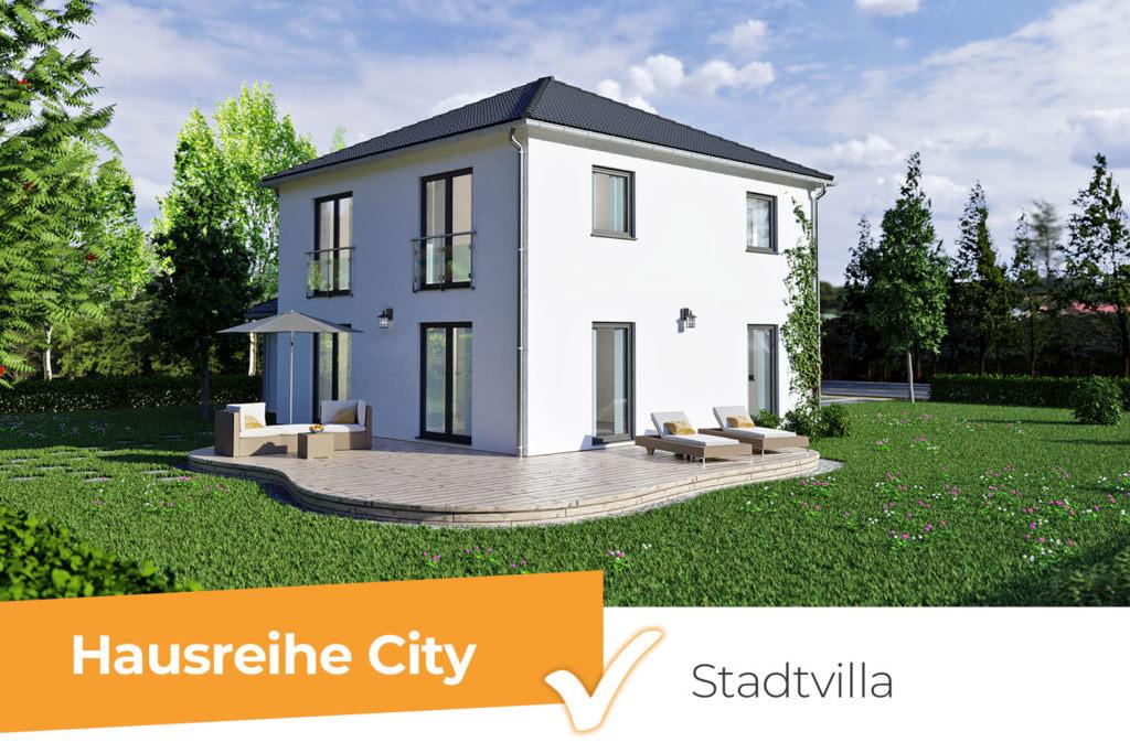 Hausreihe City - die moderne Stadtvilla