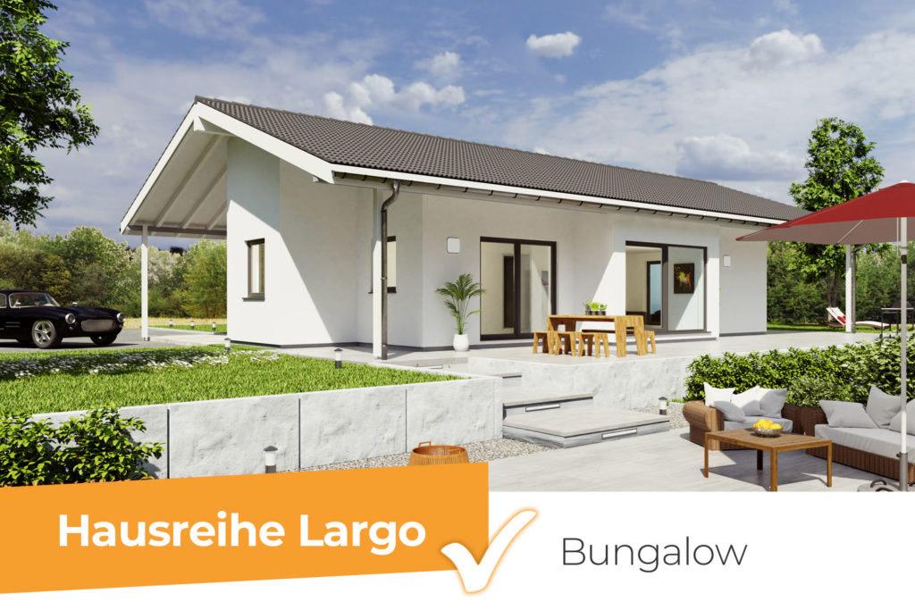 Hausreihe Largo - Bungalows für jeden