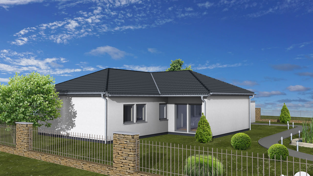 Largo 121 - Bungalow in L-Form