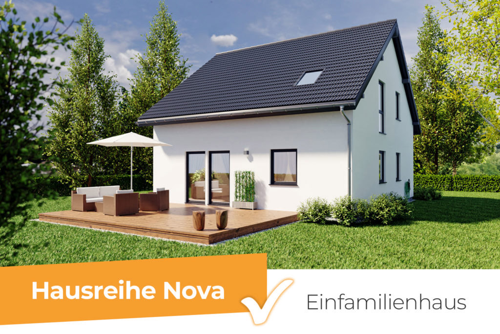 Hausreihe Nova - das klassische Einfamilienhaus mit besonderer Note