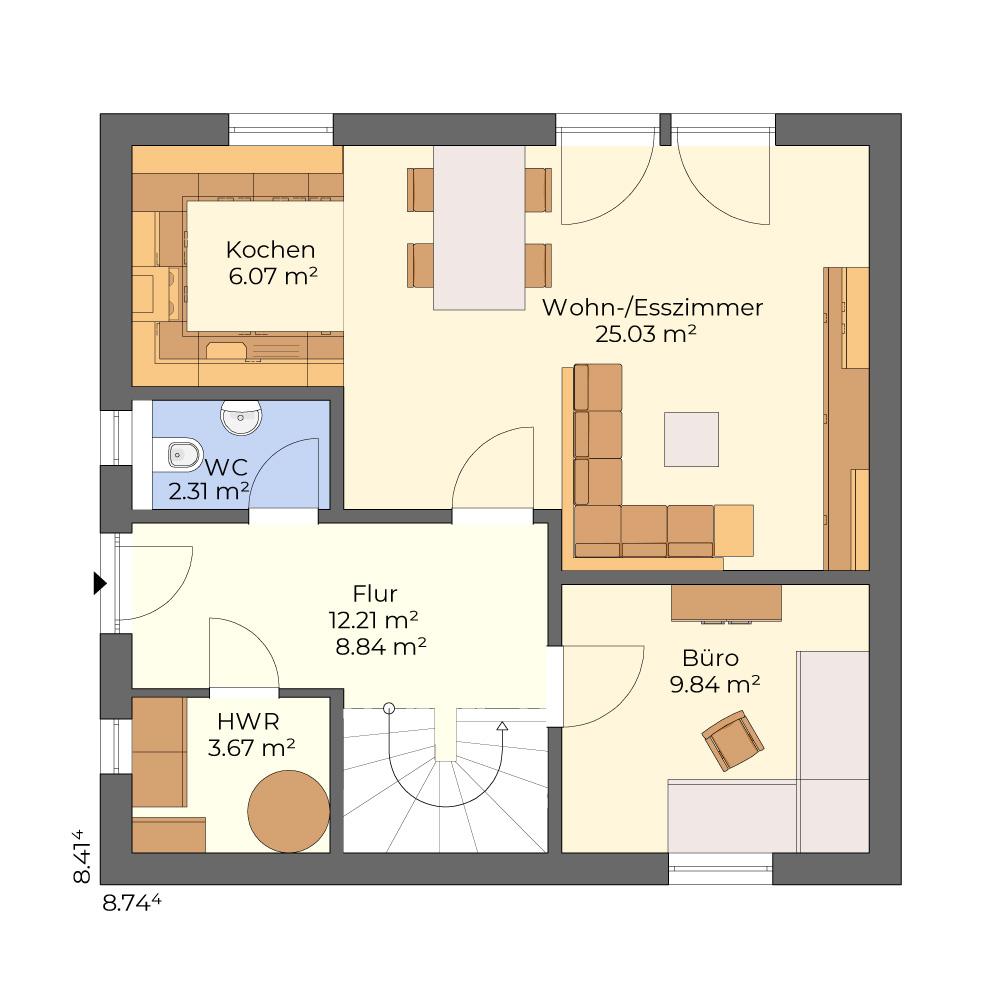 Nova 722 - klassisches Einfamilienhaus