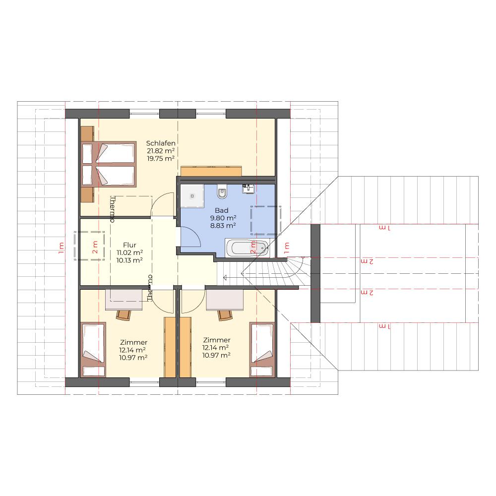 Solo 136 - großes Haus, große Garage