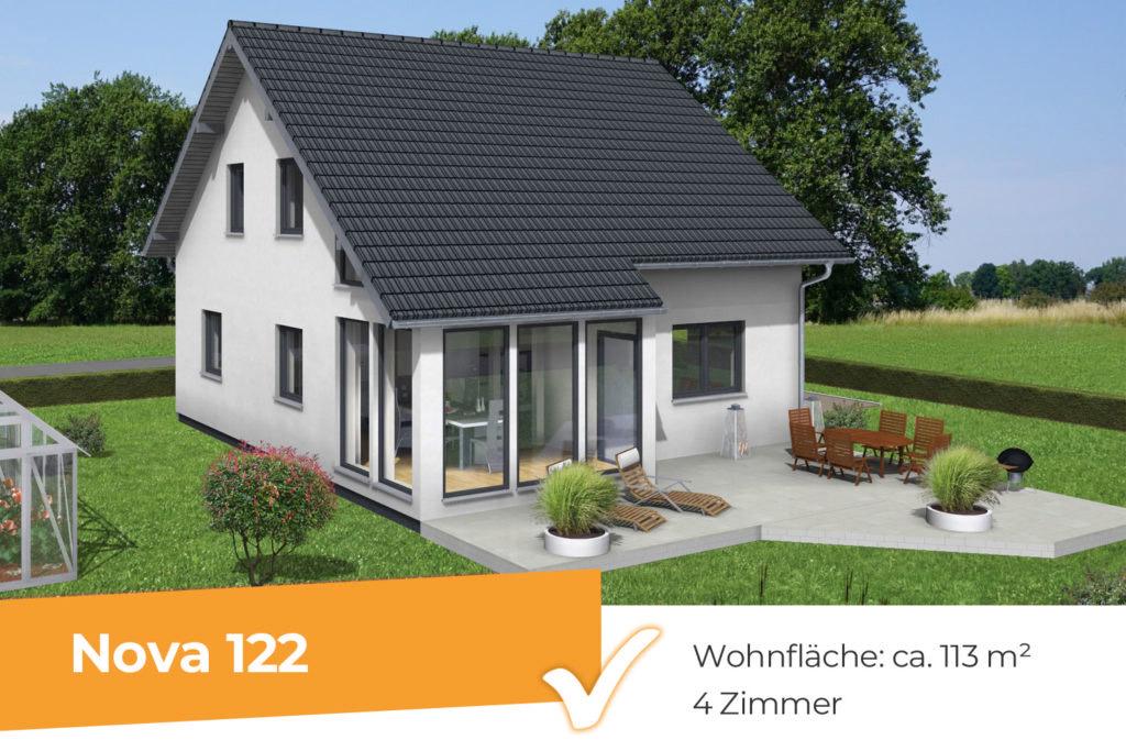 Nova 122 - klassisches Einfamilienhaus mit Wintergarten