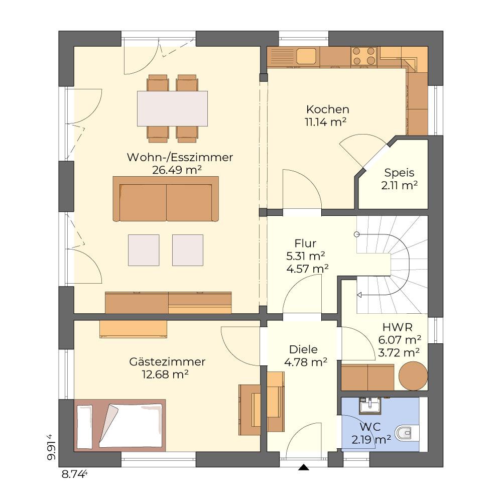 Rohe 87 - Bauhaus-Villa